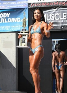 Yeon Woo Jhi, At The 2011 Memorial Day Muscle International Classic.