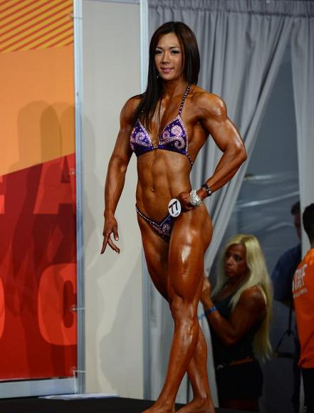 Yeon Woo Jhi, At The 2013 Arnold Classic Europe.