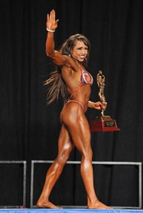 Blockman Walking Away. After Winning The Overall At The 2013 NPC Junior Nationals.