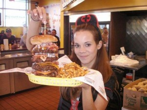 Heart Attack Grill Bypass Burger